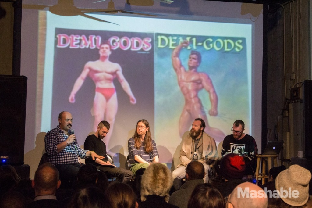 """Passionate Collections"" Panel at the NYC Porn Film Festival 2015."